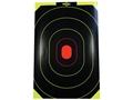 "E-ZEE-C Self-Adhesive 10"" x 15'"" Black/Yellow Silhouette Target"