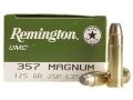 Remington UMC Ammunition 357 Magnum 125 Grain Jacketed Soft Point