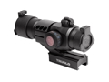 TRUGLO Triton Red Dot Sight 30mm Tube 1x 5 MOA Dot Red, Green, and Blue with Integral Weaver-Style Mount Matte