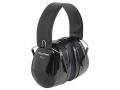 Peltor PTL Push-To-Listen Electronic Earmuffs (NRR 26dB) Black and Gray