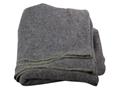 Military Surplus Polish Blanket Wool Gray