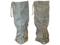 Military Surplus New Condition Swiss Mountain Gaiters with Zippers