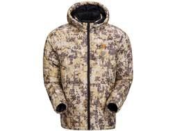 Plythal Men's Goose Down Extreme Hooded Jacket Polyester Digital