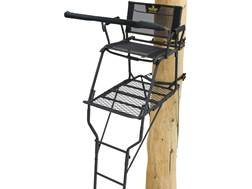 Rivers Edge SCYT Wide Single Ladder Treestand Steel Black