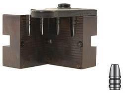 Lyman 2-Cavity Bullet Mold #225415 22 Caliber (225 Diameter) 55 Grain Flat Nose Gas Check
