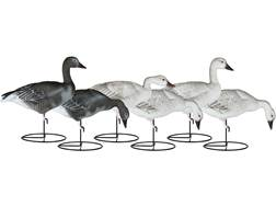 Dakota Decoy X-Treme Full Body Juvie Snow & Blue Goose Decoy Pack of 6