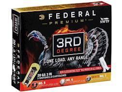 "Federal Premium 3rd Degree Turkey Ammunition 20 Gauge 3"" 1-7/16 oz #5, #6, and #7 Shot Multi Shot..."