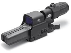 EOTech Holographic Hybrid Sight III 68 MOA Circle with (2) 1 MOA Dots Reticle with G33 3x Magnifi...