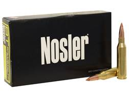 Nosler BT Ammunition 6.5 Creedmoor 120 Grain Ballistic Tip Box of 20