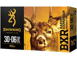 Browning BXR Rapid Expansion Ammunition 30-06 Springfield 155 Grain Matrix Tip