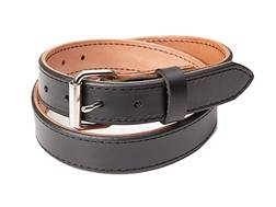"CrossBreed Classic Gun Belt 1-1/2"" Leather Nickle Buckle"