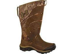 "Under Armour UA Atrox 16"" Waterproof Scent Control Snake Boots Leather Realtree Xtra Camo Men's 8 D"