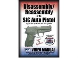"American Gunsmithing Institute (AGI) Disassembly and Reassembly Course Video ""Sig Sauer Auto Pist..."