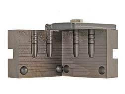 RCBS 2-Cavity Bullet Mold 25-100-FN# 25 Caliber (258 Diameter) 100 Grain Flat Nose Gas Check