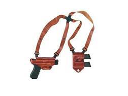 Galco Miami Classic 2 Shoulder Holster System Right Hand Glock 20, 21, 29. 30, 39, 41 Leather