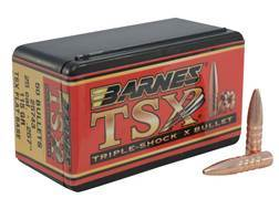 Barnes Triple-Shock X (TSX) Bullets 25 Caliber (257 Diameter) 115 Grain Hollow Point Flat Base Le...