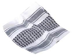 CamCon Shemagh Cotton Black and White