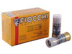 "Fiocchi Shooting Dynamics Low Recoil Ammunition 12 Gauge 2-3/4"" 1 oz Rifled Slug Box of 10"