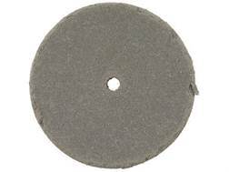 "Cratex Abrasive Wheel Flat Edge 1"" Diameter 3/16"" Thick 1/16"" Arbor Hole Extra Fine Bag of 20"