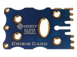 KA-BAR Snody Crisis Card Multi-Tool Titanium Turquoise Blue