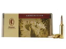 Nosler Custom Ammunition 7mm Remington Short Action Ultra Magnum 160 Grain Partition Spitzer Box ...