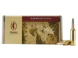 Nosler Custom Ammunition 7mm Remington Short Action Ultra Magnum 160 Grain Partition Spitzer Box ...