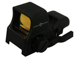 Sightmark Ultra Shot Pro Spec Night Vision Red Dot Sight 1x Quick Detach 4 Pattern (Dot, Cross, C...