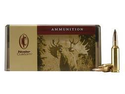 Nosler Custom Ammunition 300 Remington Short Action Ultra Magnum 150 Grain Partition Spitzer Box ...