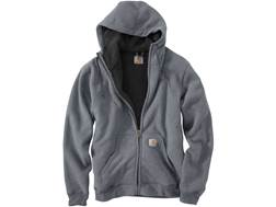 Carhartt Men's Collinston Brushed Fleece Sherpa Lined Heavyweight Hooded Sweatshirt Cotton/Polyester