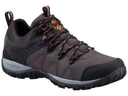 "Columbia Peakfreak Venture LT 4"" Waterproof Hiking Shoes Leather/Nylon Shark/Valencia Men's"
