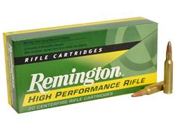 Remington Express Ammunition 222 Remington 50 Grain Pointed Soft Point Box of 20