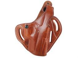 El Paso Saddlery Dual Duty 3 Slot Outside the Waistband Holster Right Hand Sig Sauer P229 Leather