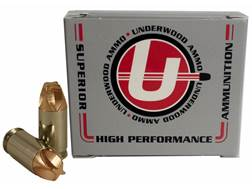 Underwood Xtreme Defender Ammunition 380 ACP 65 Grain Lehigh Xtreme Defense Lead-Free Box of 20