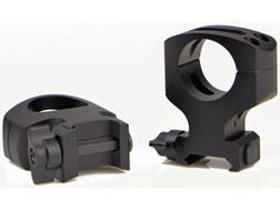 "Warne MSR 2-Piece 1"" Quick-Detachable Picatinny-Style Rings Matte MSR Height"