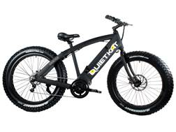 QuietKat 750W Motorized FatKat Bike with Internal Motor and Chain Drive