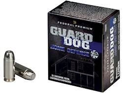 Federal Premium Guard Dog Home Defense Ammunition 9mm Luger 105 Grain Expanding Full Metal Jacket...