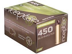 Inceptor Preferred Hunting Ammunition 450 Bushmaster 158 Grain ARX Frangible Lead-Free Box of 20