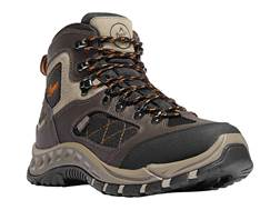 "Danner TrailTek 4.5"" Uninsulated Waterproof Hiking Boots Leather and Nylon Brown/Orange Men's"