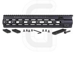 Geissele Super Modular Rail HK Free Float Handguard HK MR556, 416 Aluminum