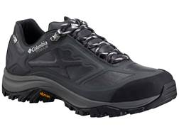 "Columbia Terrebonne Outdry Extreme Low 4"" Waterproof Hiking Shoes Leather Black/White Men's"