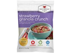 Wise Food Long Term 25 Year 4 Serving Strawberry Granola Crunch Freeze Dried Food