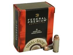 Federal Premium Vital-Shok Ammunition 10mm Auto 180 Grain Trophy Bonded Jacketed Soft Point Box o...