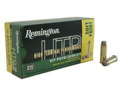 Remington High Terminal Performance Ammunition 44 Remington Magnum 240 Grain Jacketed Soft Point ...