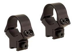 "B-Square 1"" x 11mm InterLock Fixed Airgun Dovetail Rings Matte"
