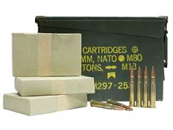 Military Surplus Ammunition 303 British 174 Grain Full Metal Jacket Berdan Primed Loaded in Ammo Can of 200 Rounds