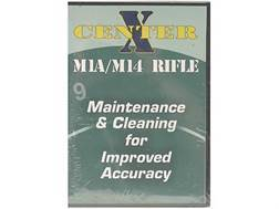 "Gun Video ""Center X: M1A/M14 Rifle Maintenance and Cleaning for Improved Accuracy"" DVD"