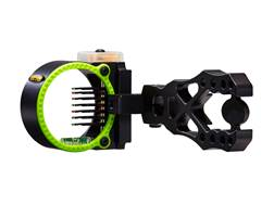 "Black Gold Flash Point Rush Bow Sight .019"" Pin Diameter Right Hand Aluminum"