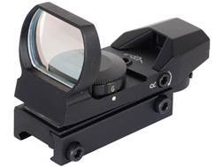 NcStar Tactical Red Dot Sight Red and Green 4-Pattern Reticle (Dot, Bullseye, Cross, and Star Bur...