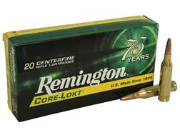 Remington Express Ammunition 243 Winchester 100 Grain Core-Lokt Pointed Soft Point Box of 20