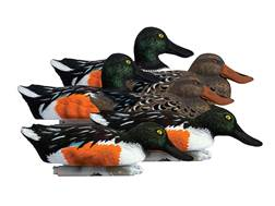 Higdon Standard Shoveler Duck Decoy Polymer Pack of 6